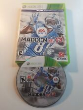 MADDEN NFL 13 Xbox 360 Complete w/ Box, FAST AND FREE SHIPPING !!!