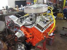 350 CHEVY ENGINE COMPLETE REMAN CAMARO NOVA CHEVELLE HIGH FLOW HEADS TURN KEY