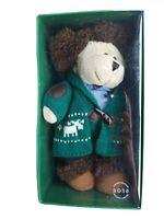STARBUCKS 2016 Christmas Holiday Bearista Teddy Bear Knit Sweater Limited Ed NIP