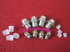 50pcs 3mm + 50pcs 5mm Chrome Metal LED Bezel Mounts Holder Clip Panel Display