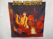 Jimi Hendrix Contemporary Art Wall Hanging Fabricon Rock & Roll Voodoo Child