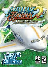 Airline Tycoon 2 Gold Edition (PC-DVD) BRAND NEW SEALED
