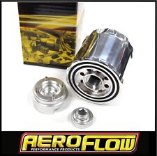 BILLET SPIN ON WASHABLE OIL FILTER BA VL LS1 TURBO DRAG CAR FORD HOLDEN CHEV