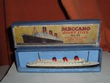 DINKY TOYS QUEEN MARY PRE WAR A RARE ITEM JUST AN EXAMPLE !! IN VERY POOR SHAPE