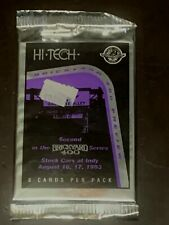 1994 Hi-Tech Brickyard 400 NASCAR Cards Sealed Pack. 8 Cards per pack.