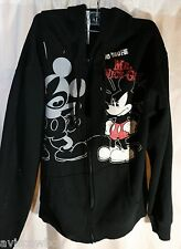 Disney Disneyland Mickey Mouse No More Mr Nice Guy Hoodie Sweatshirt Men's M