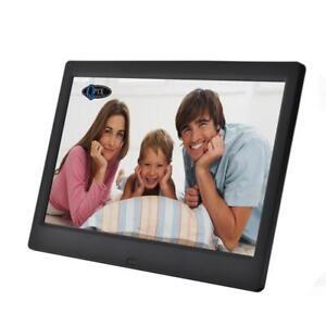 QPIX 7'' Digital Photo Frame Multi-Function Remote Control 1024*600