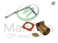 landrover td5 performance td5 de cat pipe and egr blank removal kit td5 egr kit