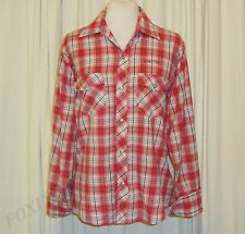 BEAUTIFUL UNITED COLORS OF BENETTON PLAID/CHECKERED LONG SLEEVED SHIRT size XL