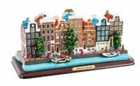 Amsterdam Poly Modell 21 cm !! Grachten Holland Niederlande Souvenir