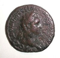 Ancient Roman Empire, Domitian, AE Dupondius. 86 AD. Fortuna
