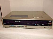 Vintage Panasonic Omivision Pv-1340 Vcr Vhs Player No Remote