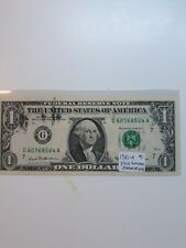 1981-A $1 Federal Reserve Note Error Ink Smear ! Check out my other items !