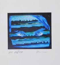 Bernd pulpo ojos presión de gráficos 15x14cm imagen autografiada