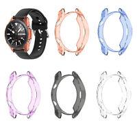 TPU Uhrenabdeckung Schutzhülle Case für Samsung Galaxy Watch 3 45MM SM-R840 Uhr