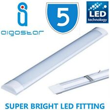 5 x 4ft LED Linear Surface Tube Wall Strip Light Fitting 36w Daylight 120cm 860