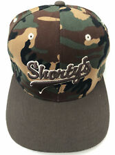 Vintage Shorty's Camo Skateboard Flexfit Hat