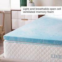 Memory Foam Mattress Twin Bed in Box Twin 2 Inch Gel Foam Mattress Topper