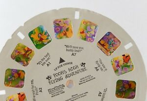 POOH'S HIGH flying adventure WINNIE L'OURSON VIEW MASTER 3 Disques en anglais