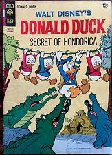 GOLD KEY Donald Duck comic SECRET OF HONDORICA No. 98