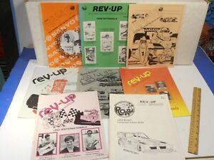 1981-82-83-84 *ROAR REV UP* 8 RC RADIO CONTROL CAR RACING MAGAZINE LOT