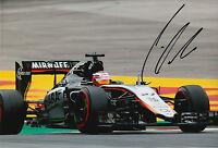 Nico Hulkenberg Hand Signed 12x8 Photo 2015 Sahara Force India F1 6.