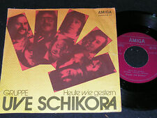 Uve schikora aujourd'hui comme hier & le vent est fatiguée/rda sp 1975 Amiga 456127