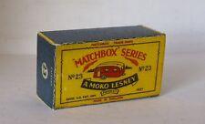 REPRO BOX MATCHBOX 1:75 n. 23 Caravan