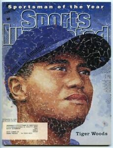 SI: Sports Illustrated December 23, 1996 Sportsman of the Year Tiger Woods, VG