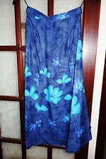 Marks and Spencer ladies blue mix  skirt Size 12