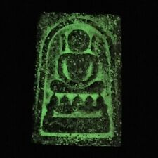 PHRA SOMDEJ LAMBENT LP TOH WAT PHRA KAEW GLOW IN THE DARK THAI BUDDHA AMULET