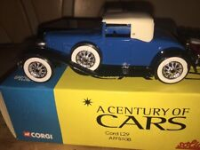 A Century Of Cars Corgi Solido Cord L29 1/43 Car
