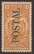 Ecuador 580 1954 Fiscal MH