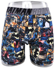 Batman Boxer Briefs Dark Knight DC Comics Damage Society Underwear Mens Large