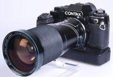 Contax 139Qaurtz +Winder 159W and Carl Zeiss Jena 28-200mm F3.8--5.6 lens.