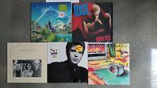Lot of 5 British New Wave(retro) LP's, Asia/BIdol/H.Jones/PGabriel/FlkofSeagulls