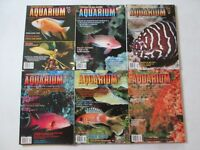FRESHWATER & MARINE AQUARIUM MAGAZINE LOT 6 ISSUES Jul Aug Sept Oct Nov Dec 1999