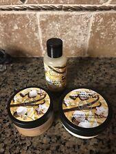 The Body Shop Vanilla Marshmallow Delights Shower Gel Scrub Body Butter Cream