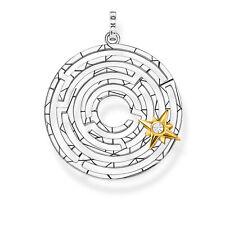 THOMAS SABO Schmuck Anhänger Labyrinth mit Stern PE851-849-14