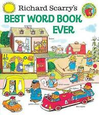 Richard Scarry's Best Word Book Ever by Richard Scarry (Hardback, 1998)