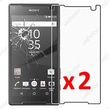 x2 Film Protection écran Verre Trempé Vitre Anti Casse Sony Xperia Z5 Compact