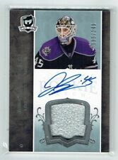 07-08 UD The Cup  Jonathan Bernier  /249  Auto  Patch  Rookie