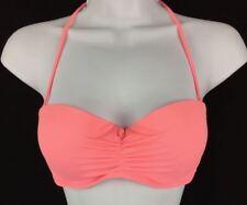 VICTORIA'S SECRET Sexy Bikini Top Swimwear Swimsuit Peach Halter Top Size