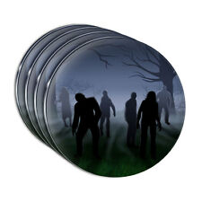 Rise of the Zombie Horde Acrylic Coaster Set of 4