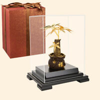 Lucky Fortune tree Money tree Gold Fengshui Ornament Gold foil crafts home decor