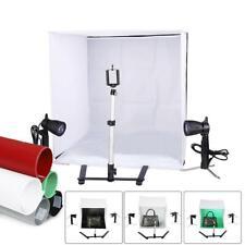 Kshioe 60cm Photostudio Tent LED Light Cube Photo Studio Photography Kit