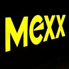 MEXX Originale Leuchtreklame MAKELLOS Amsterdam um 1995 Damen Kleidung Mode RAR