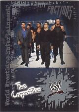 *ULTRA RARE!* 2002 Fleer WWE FACTIONS Insert Card #F2    THE CORPORATION