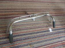 Old bicycle Handlebars with grips and both rod brake levers (30's style)