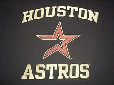 Houston Astros T-Shirt faded style Womens Large